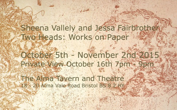 Sheena Vallely Alma Exhibition 2015