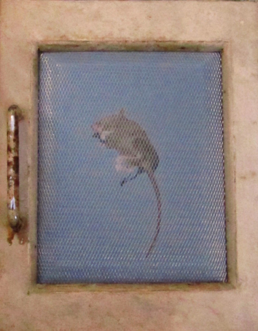 Door mouse by Sheena Vallely