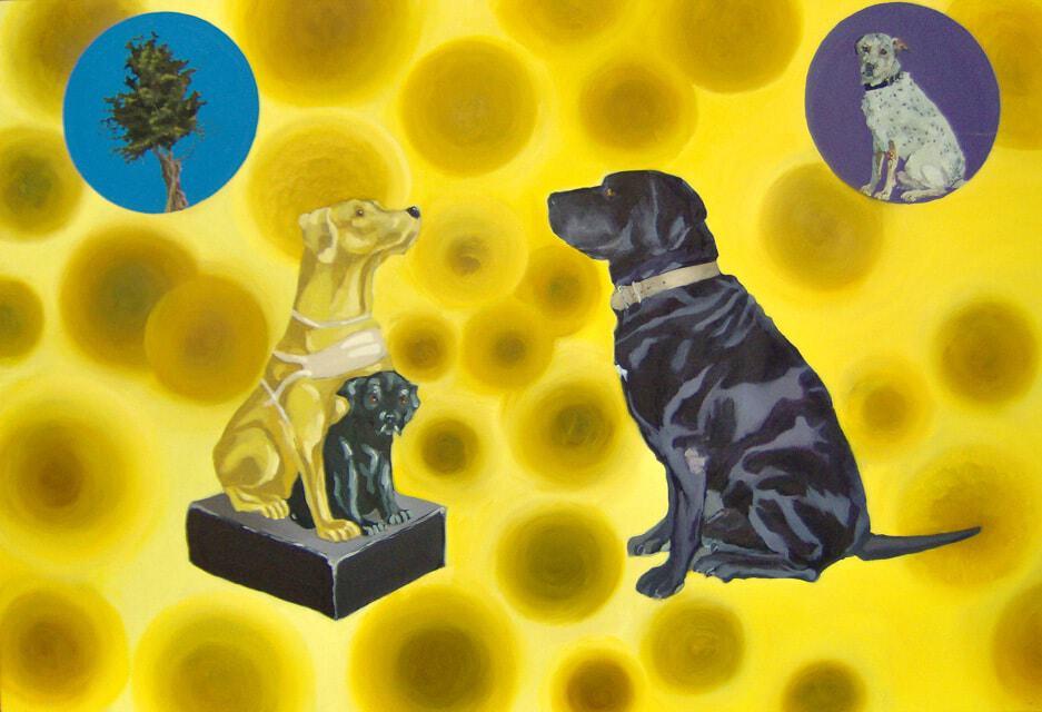 False Dogs, Blind Belief by Sheena Vallely