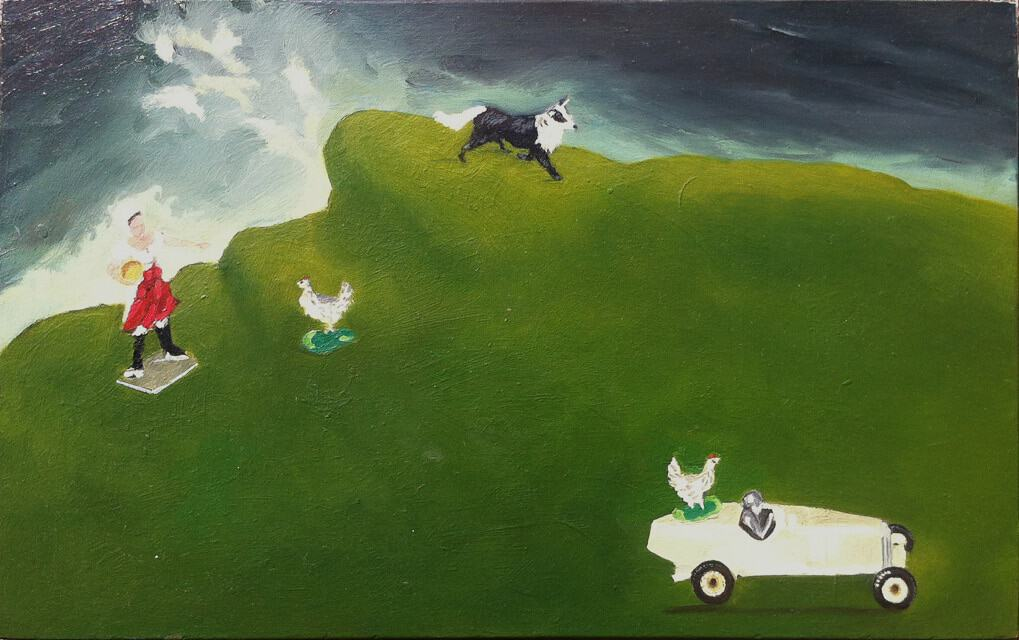 Headland 1 by Sheena Vallely